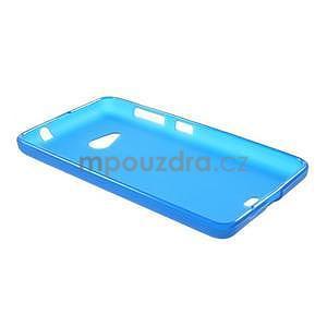 Matný gelový obal Microsoft Lumia 535 - modrý - 6