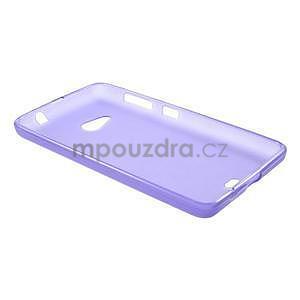 Matný gelový obal Microsoft Lumia 535 - fialový - 6