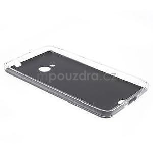 Ultra tenký kryt s jemnými koženkovými zády Microsoft Lumia 535 - černý - 6