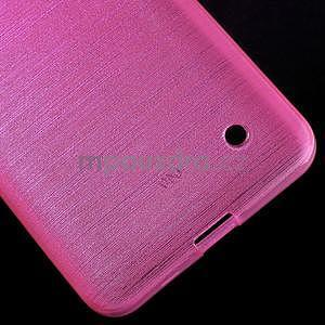 Broušený gelový obal na Microsoft Lumia 640 LTE - rose - 6