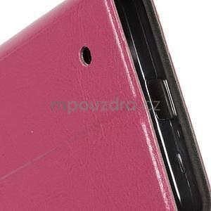 Rose peněženkové pouzdro na Microsoft Lumia 640 LTE - 6
