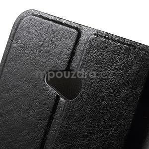 Černé peněženkové pouzdro na Microsoft Lumia 640 LTE - 6
