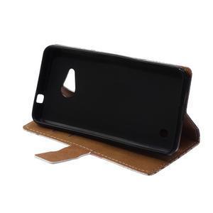 Peněženkové pouzdro na mobil Microsfot Lumia 550 - královská koruna - 6