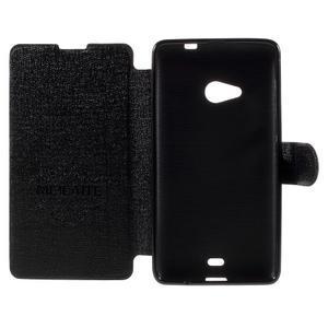 Solid pouzdro na mobil Microsoft Lumia 535 - černé - 6