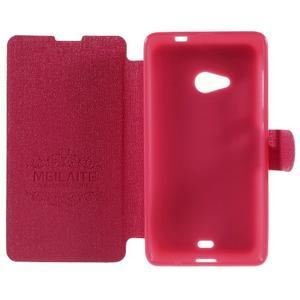 Solid pouzdro na mobil Microsoft Lumia 535 - rose - 6