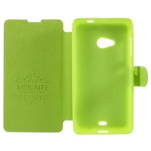 Solid pouzdro na mobil Microsoft Lumia 535 - zelené - 6