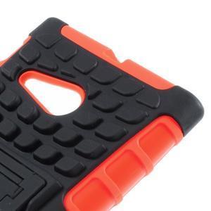 Outdoor odolný kryt na Nokia Lumia 730/735 - oranžový - 6