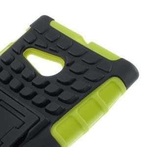 Outdoor odolný kryt na Nokia Lumia 730/735 - zelený - 6