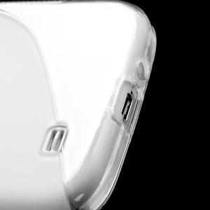 S-line gelový obal na Samsung Galaxy S4 - transparentní - 6