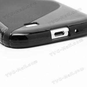 S-line gelový obal na Samsung Galaxy S4 - černý - 6