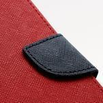 Fancy peněženkové pouzdro na Samsung Galaxy S4 - červené - 6/7