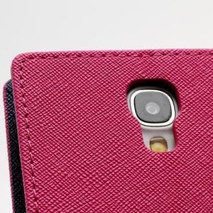 Fancy peněženkové pouzdro na Samsung Galaxy S4 -  rose - 6
