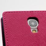Fancy peněženkové pouzdro na Samsung Galaxy S4 -  rose - 6/7