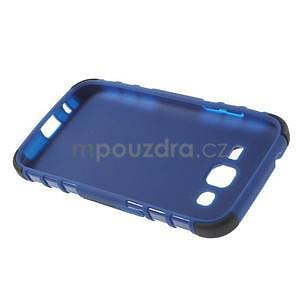 Extrémně odolný obal se stojánkem na Samsung Galaxy Core Prime - modrý - 6