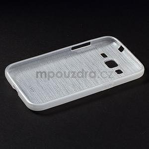 Broušený gelový kryt na Samsung Galaxy Core Prime - transparentní - 6