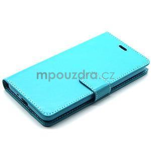 Tyrkysové pouzdro na Samsung Galaxy Grand Prime - 6