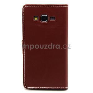 Hnědé pouzdro na Samsung Galaxy Grand Prime - 6
