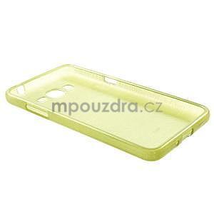Broušený gelový obal pro Samsung Galaxy Grand Prime - zelený - 6