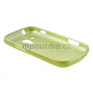 Broušený gelový kryt na Samsung Galaxy S Duos - zeleno žlutý - 6