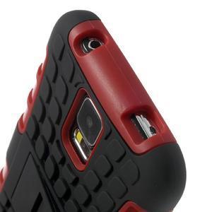 Outdoor odolný kryt na mobil Samsung Galaxy S5 - červený - 6