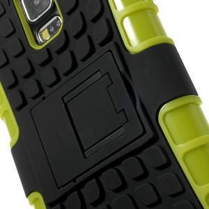 Outdoor odolný kryt na mobil Samsung Galaxy S5 - zelený - 6