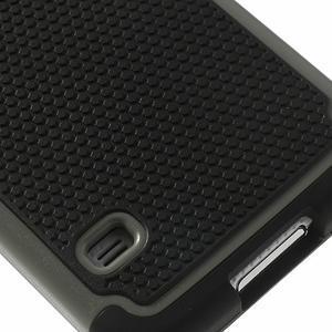 Odolný obal 2v1 na mobil Samsung Galaxy S5 - šedý - 6