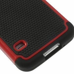 Odolný obal 2v1 na mobil Samsung Galaxy S5 - červený - 6