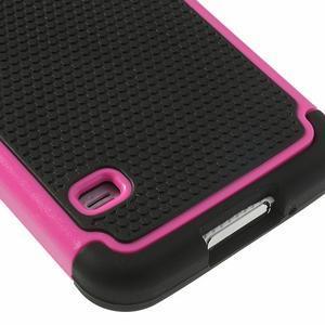 Odolný obal 2v1 na mobil Samsung Galaxy S5 - rose - 6