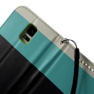 Colory PU kožené pouzdro na mobil Samsung Galaxy S5 - variant III - 6