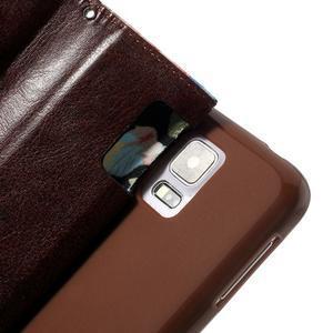 Květinové pouzdro na mobil Samsung Galaxy S5 - černé pozadí - 6