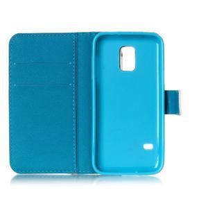 Stand peněženkové pouzdro na Samsung Galaxy S5 mini - love - 6