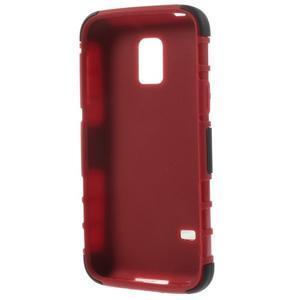Outdoor odolný obal na mobil Samsung Galaxy S5 mini - červený - 6