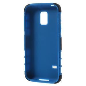 Outdoor odolný obal na mobil Samsung Galaxy S5 mini - modrý - 6