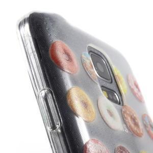 Gelový kryt na mobil Samsung Galaxy S5 mini - donut - 6