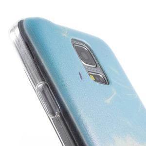 Gelový kryt na mobil Samsung Galaxy S5 mini - pampeliška - 6