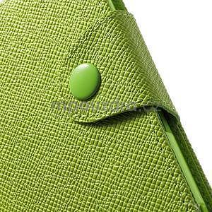 Zelené peněženkové pouzdro na Sony Xperia Z3 Compact - 6