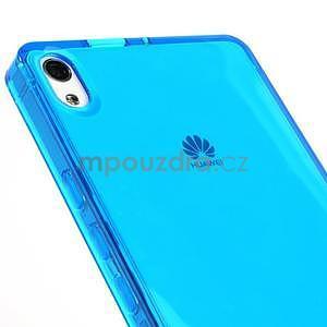 Gelové pouzdro na Huawei Ascend P6 - modré - 6