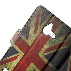 Peněženkové pouzdro na Huawei Ascend Y550 - UK vlajka - 6
