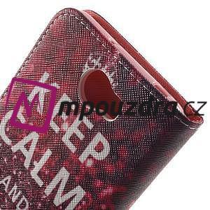 Emotive peněženkové pouzdro na Huawei Y5 II - Keep Calm - 6