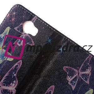Emotive peněženkové pouzdro na Huawei Y5 II - kouzelní motýlci - 6