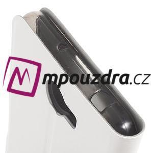 Horse PU kožené pouzdro na mobil Huawei Y5 II - bílé - 6