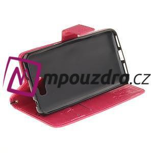 Dandelion PU kožené pouzdro na Huawei Y5 II - rose - 6