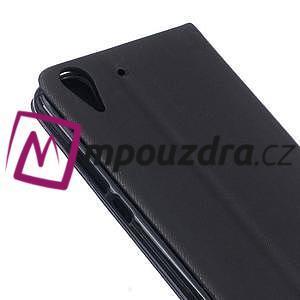 Klopové pouzdro na mobil Huawei Y6 II a Honor 5A - černé - 6