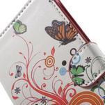 Pěněženkové pouzdro na LG G4c H525n - motýlkové - 6/7