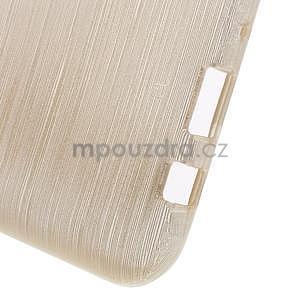 Broušený gelový obal na Samsung Galaxy J5 - champagne - 6