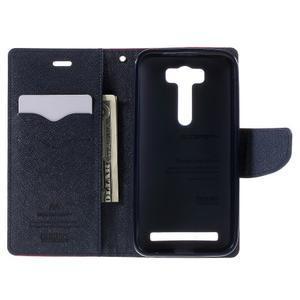 Diary stylové pouzdro na Asus Zenfone 2 Laser - rose - 6