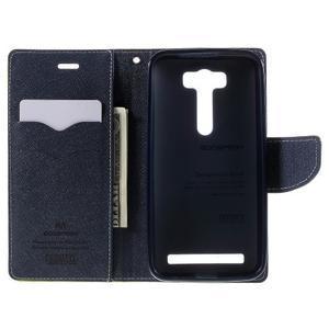 Diary stylové pouzdro na Asus Zenfone 2 Laser - zelené - 6
