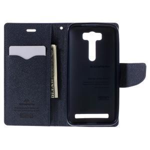 Diary stylové pouzdro na Asus Zenfone 2 Laser - fialové - 6