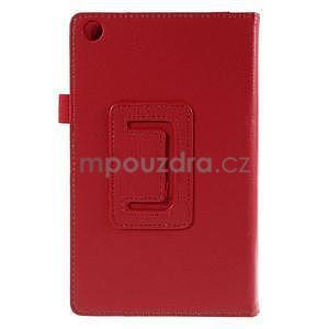 Koženkové pouzdro na tablet Asus ZenPad 7.0 Z370CG - červené - 6
