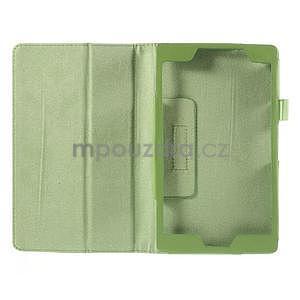 Koženkové pouzdro na tablet Asus ZenPad 7.0 Z370CG - zelené - 6